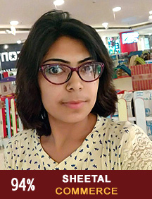Sheetal Commerce Topper 2017