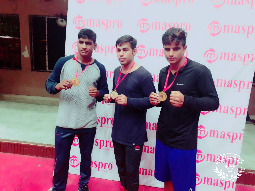 Gaurav Gill won Gold Medal in Jr. National